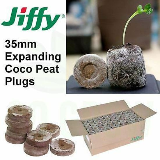 Picture of Jiffy 35 mm coco peat plugs