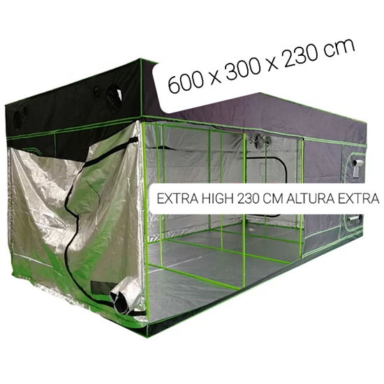 Picture of Big Cultivating tent with extra Height 600 x 300 x 230 cm