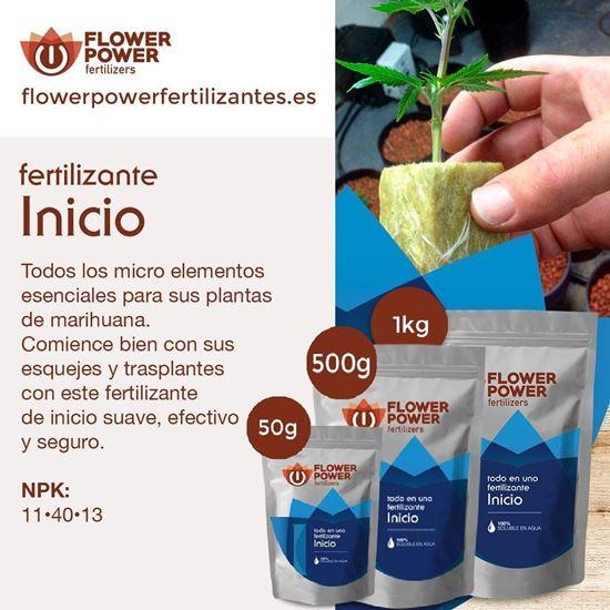 Imagen de Fertilizante Flower Power Linea Básica Início