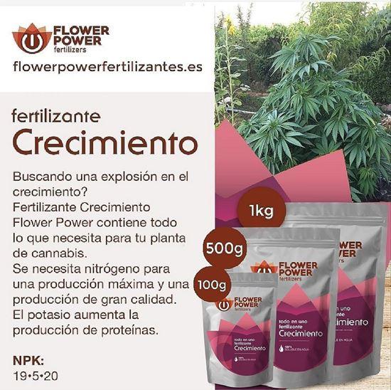 Picture of Flower Power Grow Fertilizer Basic Line