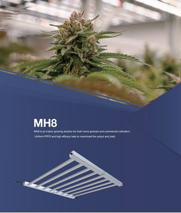 Picture of MH8 660w 2,7umol  FSG LED Cultivating Light